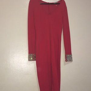 Dresses & Skirts - Red body on dress beautiful